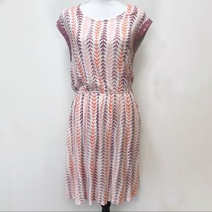 Matilda Jane Dress Pink Geometric Fortune Teller